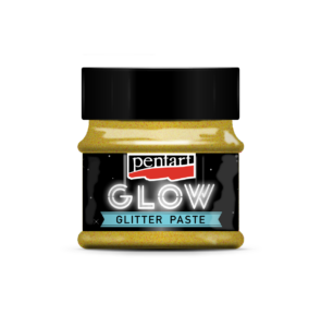 Glow glitter gél