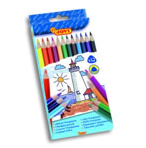 Színes ceruza készlet - 12 szín